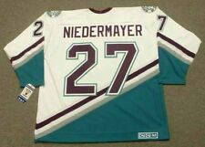 SCOTT NIEDERMAYER Anaheim Mighty Ducks 2006 CCM Throwback Home NHL Hockey Jersey