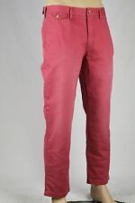 Polo Ralph Lauren Red Chino Pants Slim G.I. Fit Flat Front 36 34 NWT
