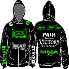 STRYKER NEW HOODIE SWEATSHIRT JACKET T MMA UFC MENS FIGHTER SIZE UP TO 5XL & 6XL