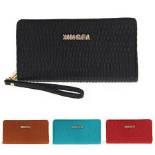Women Lady Long Clutch Bag Purse Wallet PU Leather Card Holder Fashion