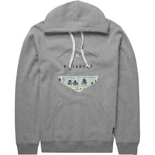 Billabong Split Hex Mens Hoody - Grey Heather All Sizes