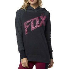 Fox Racing Definite Womens Hoody - Heather Black All Sizes
