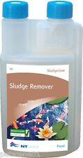 NT LABS POND 10 SLUDGECLEAR SLUDGE REMOVER TREATMENT 250 / 500 / 1000 ML