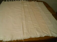SEVEN LARGE UNHEMMED AUTHENTIC VTG FEED SACKS FLOUR SACKS DISHTOWELS QUILTS