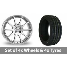 "4 x 15"" Dezent Silver Alloy Wheel Rims and Tyres -  195/65/15"
