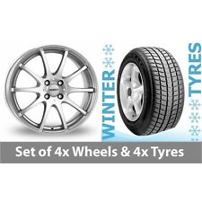"4 x 15"" Dezent Silver Alloy Wheel Rims and Tyres -  185/65/15"