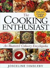 THE COOKING ENTHUSIAST COOKBOOK *HARDCOVER* LIKE NEW