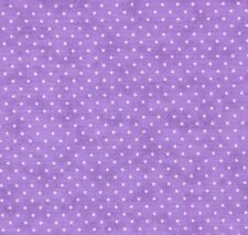 Moda Essential Dots Quilt Fabric Purple By the Yard