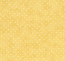 Moda Essential Dots Quilt Fabric Orange & Yellow By The Yard