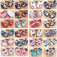 Leather Infant Baby boots Prewalker Boy Girl Baby Soft Sole Crib Kids Shoes A