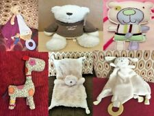 Mamas & Papas Animal Soft Toy Baby Comforters Rattles