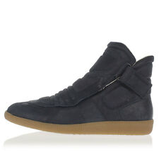 MARTIN MARGIELA MM22 Man Leather Sneakers with Velcro  Made in Italy