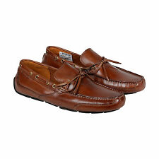 Clarks Ashmont Way Mens Brown Leather Casual Dress Slip On Loafers Shoes
