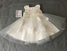 Baby girls monsoon dress 6-12 months ideal for a wedding/party/christening