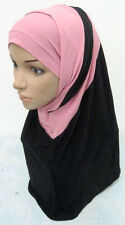 Beautiful 2 Piece Amira Hijab Muslim Hijab Islamic Scarf New Style