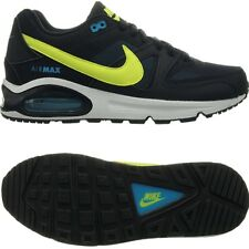 Nike Air Max Command GS J unisex kid's sneakers black/yellow/blue trainers NEW