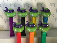 PEZ - Teenage Mutant Ninja Turtles - Angry Donatello - Choose CHINA Stem Color