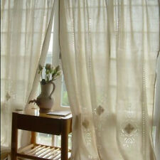Country Style Hollow Crochet Window Curtain Blackout Drape Panel Tab Top/Hook
