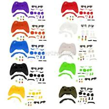 Full Housing Trigger Button Case Mod Kit Replacement for Xbox 360 Controller