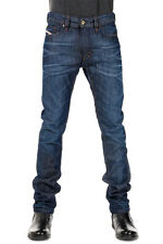 DIESEL New Men Dark Denim blue THAVAR slim Skinny Jeans Pants NWT