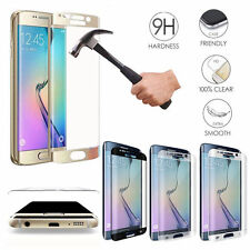 Curved Full Cover Screen Protector Tempered Glass For Samsung Galaxy S6 S7 S8