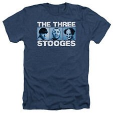 The Three Stooges The Three Squares Mens Heather Shirt