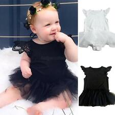 Newborn Baby Girls Infant Romper Jumpsuit Bodysuit Kids Clothes Outfit Dress