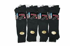 Royston MENS 6prs COTTON BLEND RIBBED KNEE HIGH LONG HOSE  SOCKS 6-11