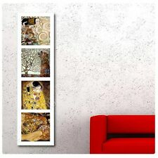 Synthetic CANVAS +GIFT Expectation Kiss Tree Collage 4 Gustav Klimt Prints