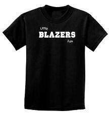 Little BLAZERS Fan Child's One-Piece or T-Shirt 6 mos-XL Youth