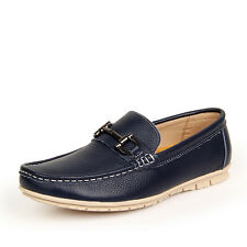 Leather Shoes Mens Driving Moccasin Loafer Casual Driving Shoes WK1988