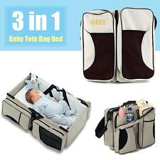 Best Diaper Tote Bag Travel Bassinet Change Station Bed Nappy Infant Carrycot RT