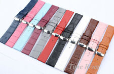 12 14 16 18 20 22mm genuine leather split leather Watch band watch strap watch