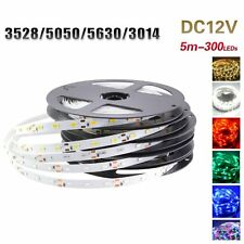 5M 300leds 3528 5050 5630 3014 SMD LED Strip Flexible Lights For Xmas Car Decor