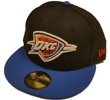 Oklahoma City Thunder New Era 59Fifty Navy Blue NBA Fitted Hat Cap