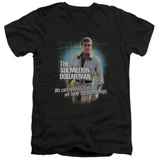 The Six Million Dollar Man Technology Mens V-Neck Shirt