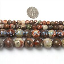 Natural Round Mixcolor Agate Stone Beads For Jewelry Making 15'' 6,8,10,12,16mm