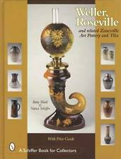 Weller Roseville Other Zanesville Art Pottery & Tiles Collector Guide Owens Etc