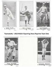 1916 M101-5 Sporting News (Blank Back) Reprints  Sets ** Pick Your Team Set **