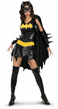 Batgirl Deluxe Adult Womens Superhero Fancy Dress Up Costume Outfit