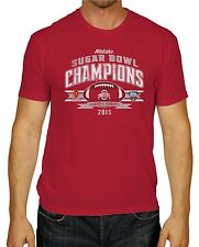 Ohio State Buckeyes The Victory 2015 Allstate Sugar Bowl Champions Red T-Shirt