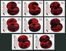 Gibraltar 1257-1264 sheets/6,MNH. Royal British Legion,2011.Troops in actions.