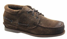 Timberland Half Cab Boat Mens Shoes Brown Leather Lace Up Casual 68504 U65