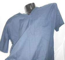 BENNETT UNIFORM Unisex NAVY V-Neck Scrub Top with 1 Upper Pocket SIZE 2XL NWTS
