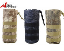 MOLLE Tactical Water Bottle Pouch Carrier Mesh Bottom Military Airsoft Hunting