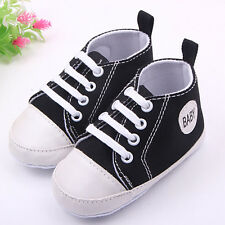 Fantastic Toddler Sneakers Baby Boy Girl Soft Sole Crib Shoes to 0-12Months