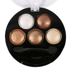 5 Colors Natural Shimmer Eye Shadow Makeup Matte Eyeshadow Palette Cosmetic Set