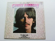 THE BEST OF GEORGE HARRISON THE BEATLES 1980 UK LP EXCELLENT