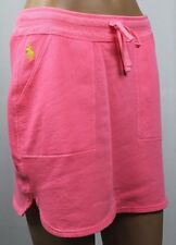 Polo Ralph Lauren Neon Pink Terrycloth Skirt Yellow Pony NWT