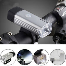 USB Rechargeable LED Bicycle Head Front Light Bike Headlight Waterproof Lamp